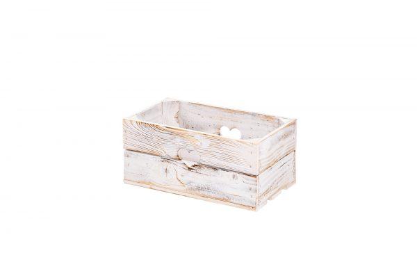 """Boîte """"Lovely"""" blanc vintage 1"""