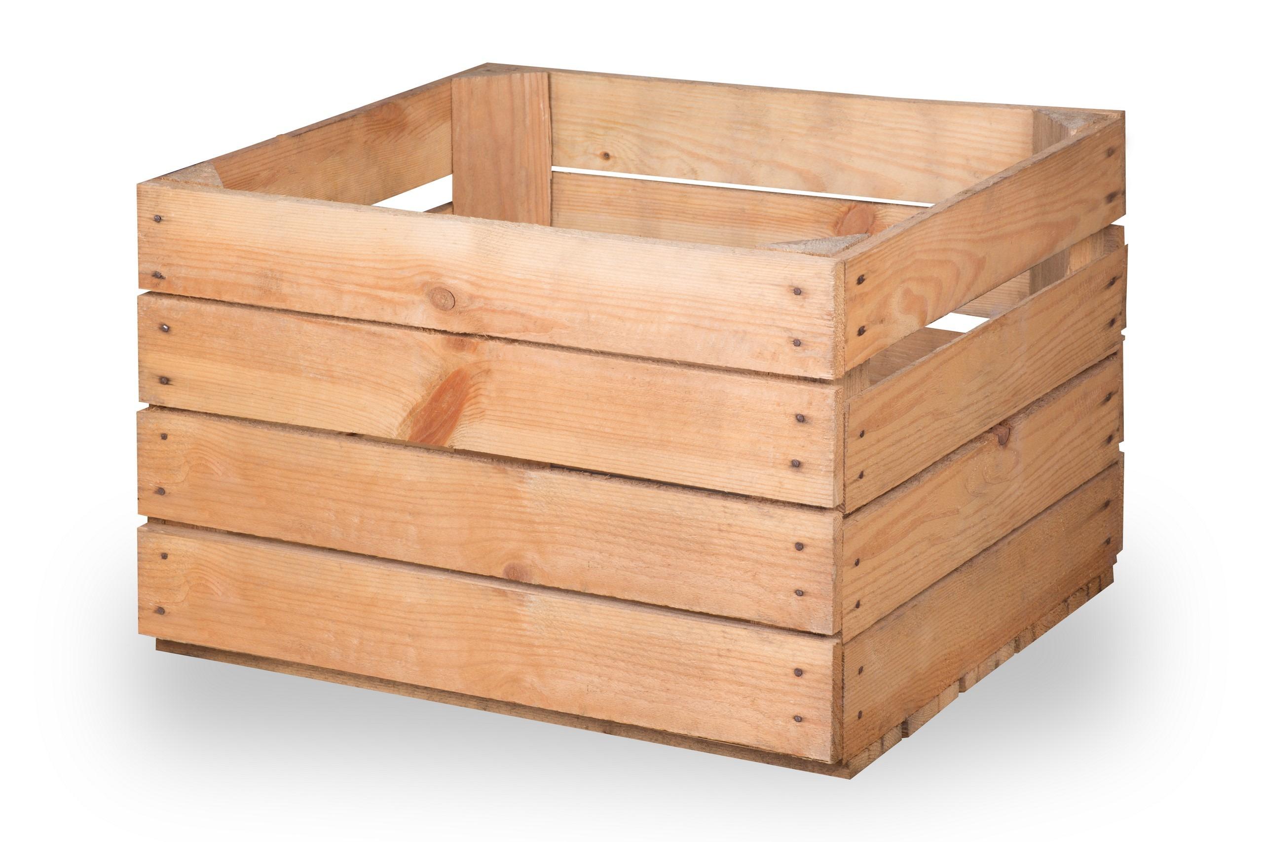 """Caisse De Pomme Vide caisse à pommes ancienne claire """"charles"""""""