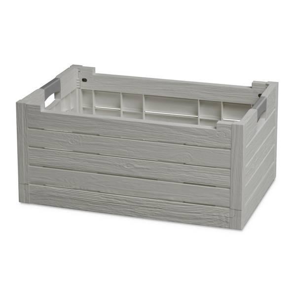 Où Trouver : Caisse bois ouvert ou caisse en bois 50 x 30 vintage 1