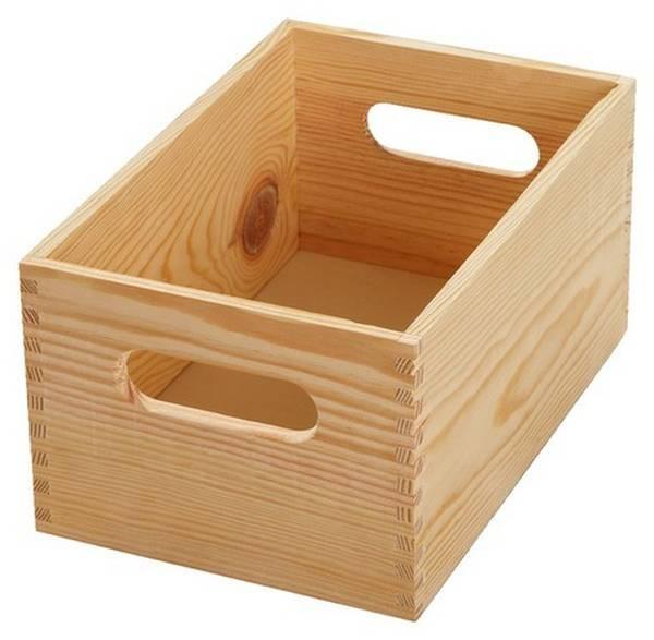 Où Trouver : Caisse en bois jysk : caisse a pomme diy deco 1
