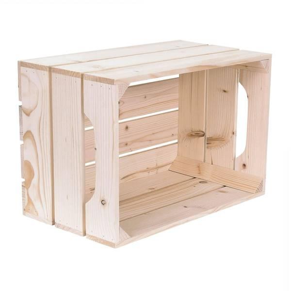 Acheter Idee caisse en bois ikea : caisse bois en kit offre 1