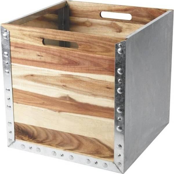 Acheter Caisse de bois walmart et caisse en bois blanc ikea avis 1