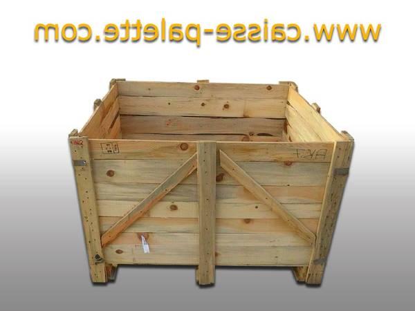 Où Trouver : Caisse en bois leroy merlin : caisse en bois de vin vide vintage 1