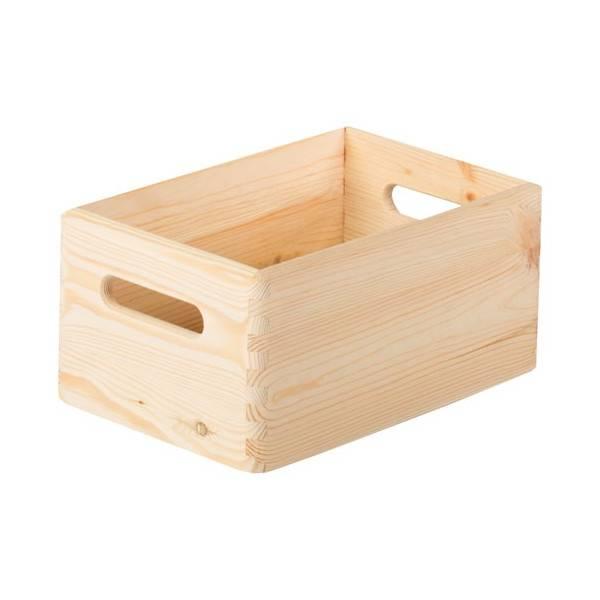 caisse en bois brico dépôt