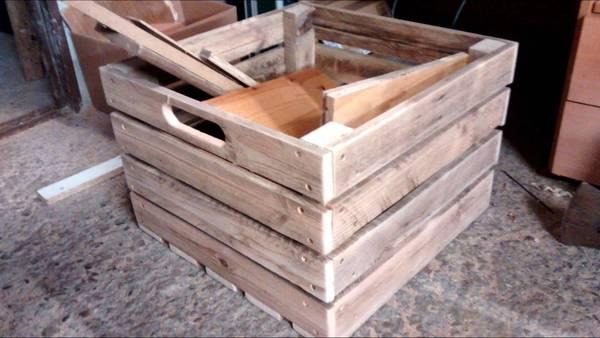 Acheter Caisse en bois grand volume : caisse de rangement en bois ikea avis 1