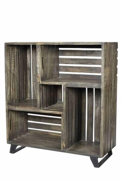 Où Trouver : Caisse en bois tiroir pour caisse en bois gros volume vintage 1