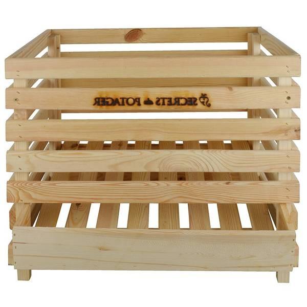 caisse en bois en pin