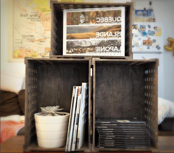 Acheter Caisse en bois orval : ancienne caisse a pommes en bois vintage 1