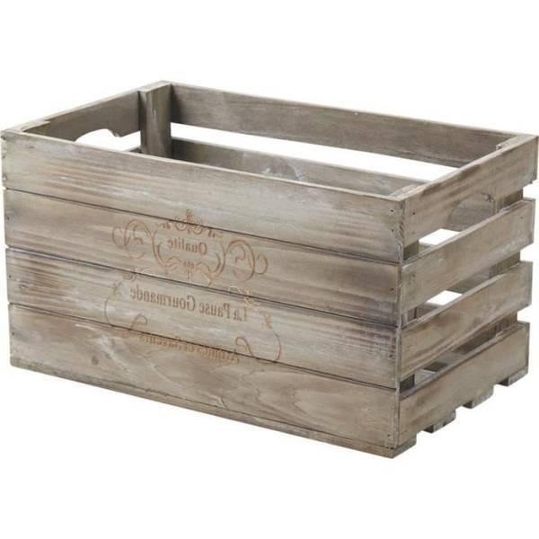 Acheter Caisse en bois vin pas cher pour caisse en bois hema vintage 1
