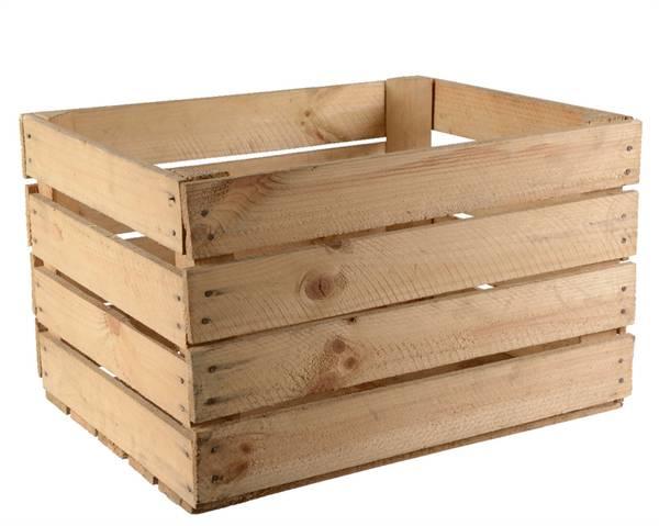 caisse en bois home depot