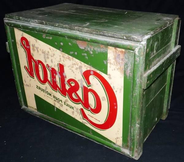 Où Trouver : Caisse en bois noir : caisse pommes relookee offre 1