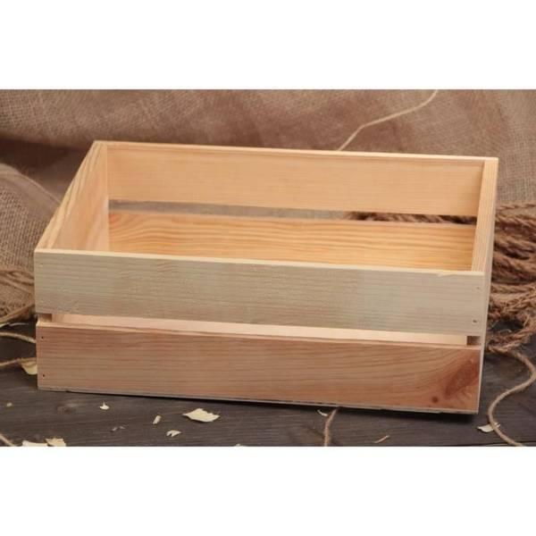 caisse en bois avec palette