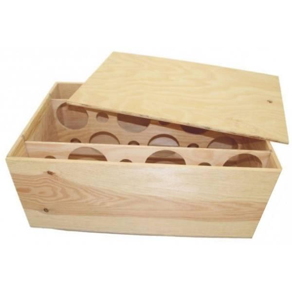 Où Trouver : Caisse a pomme en bois occasion / caisse en bois modulable avis 1