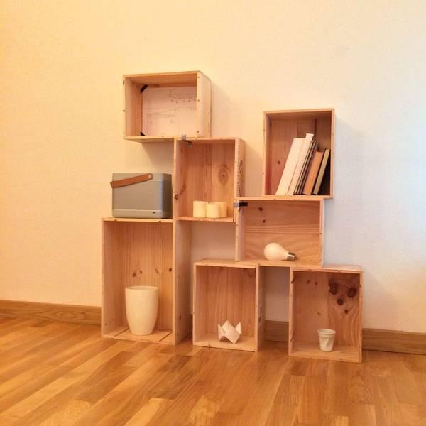 caisse en bois pour chat