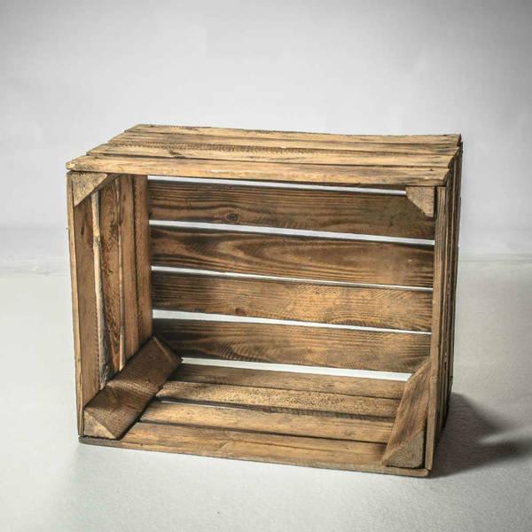 Où Trouver : Idee caisse a pomme / caisse en bois retif promotion 1
