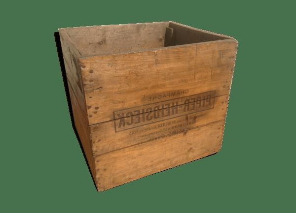 caisse en bois en palette