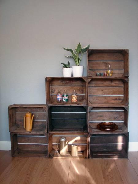 Où Trouver : Caisse a pomme deco / jolie caisse en bois comparatif 1
