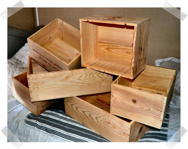 caisse en bois personnalisable