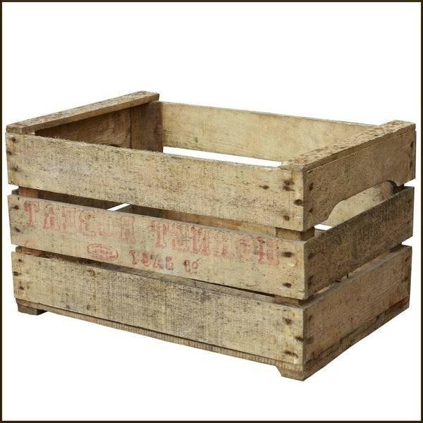Acheter Caisse en bois cuisine et caisse en bois bricolage promotion 1