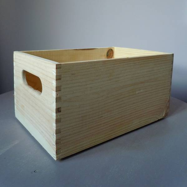 Acheter Caisse a pomme meuble et caisse a pomme en bois vintage deco 1