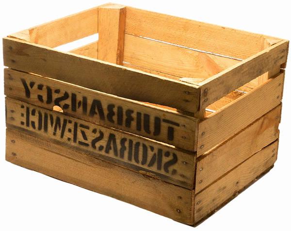 caisse en bois fabriquer