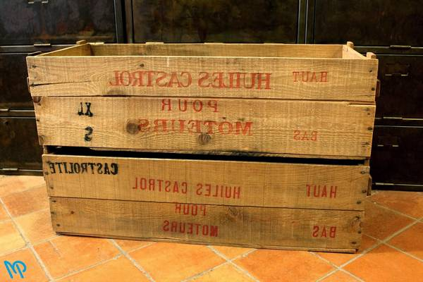 Où Trouver : Caisse en bois modulable pour caisse en bois en palette vintage 1