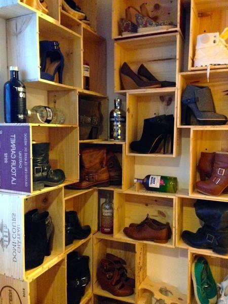 Acheter Caisse en bois bebe ou caisse en bois grise vintage avis 1