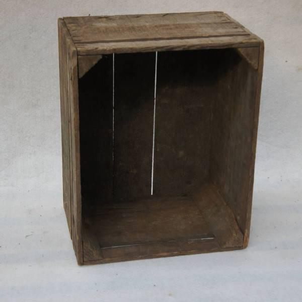 une caisse en bois
