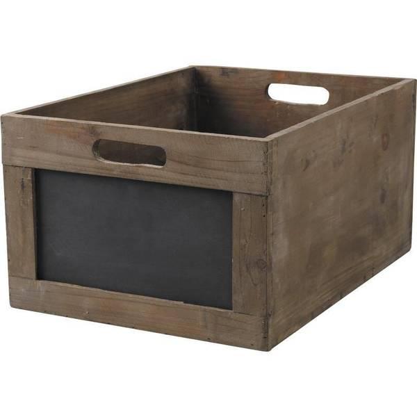 Acheter Caisse en bois style ancien : caisse oranger bois promotion 1