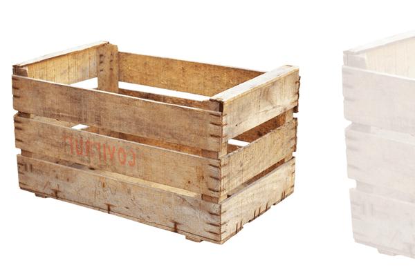 caisse en bois chez gifi