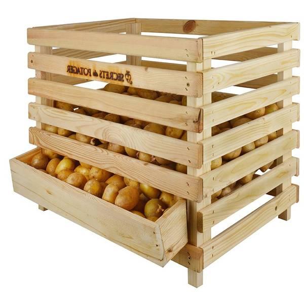 Où Trouver : Caisse en bois extérieur pour caisse en bois osier offre 1