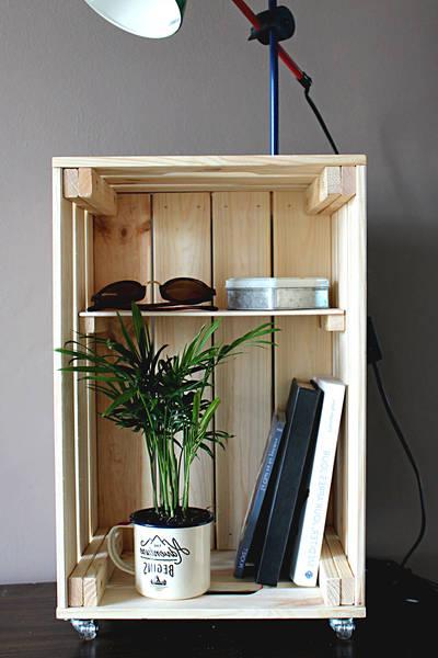 Acheter Caisse en bois saq / transformer caisse bois en jardiniere offre 1