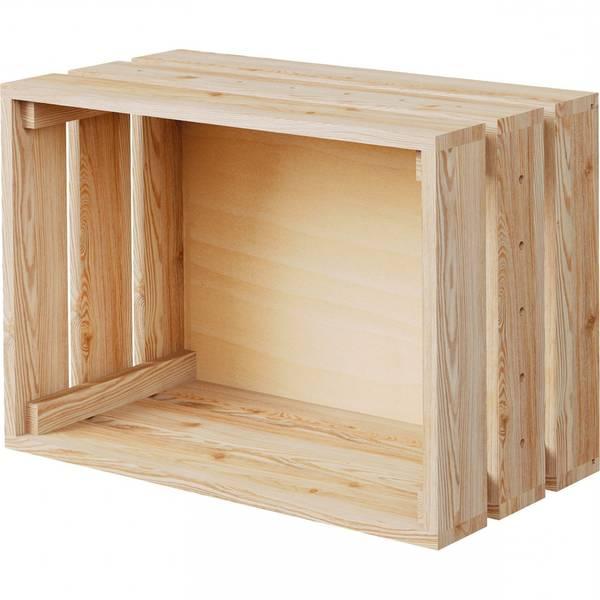 caisse en bois table