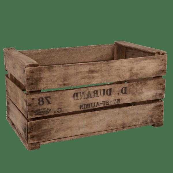 caisse en bois pour transport