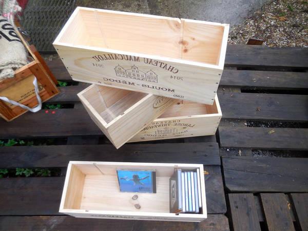 caisse en bois maison du monde