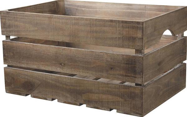 Où Trouver : Dimension dune caisse a pomme pour caisse en bois a peindre deco 1