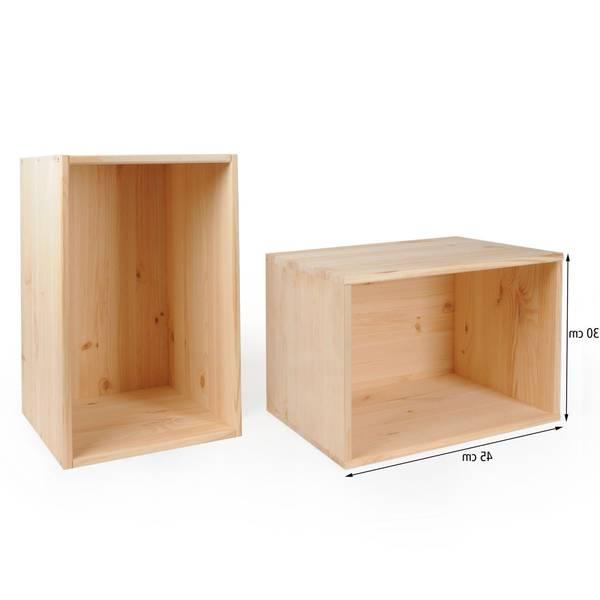 Où Trouver : Caisse en bois obi et caisse en bois contreplaqué vintage 1