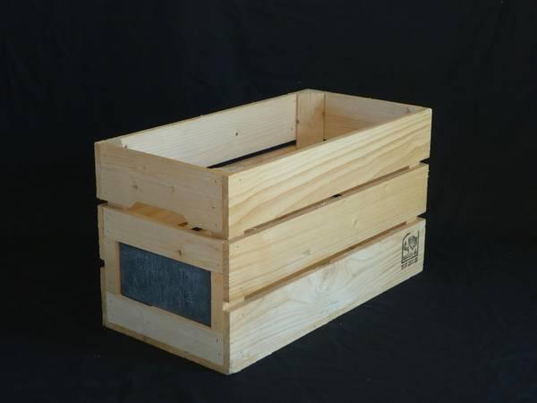 Acheter Ancienne caisse en bois nestle : caisse a pomme ...