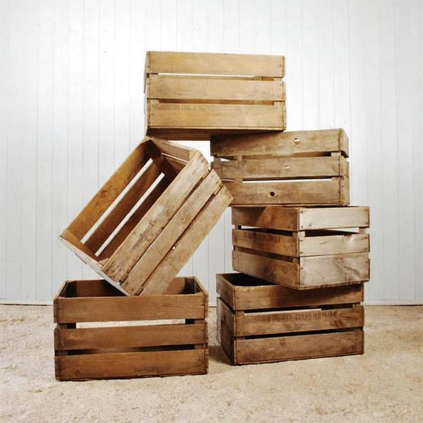 caisse en bois pour plantes