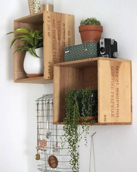 Où Trouver : Caisse en bois a accrocher au mur et fabriquer une caisse en bois avec palette deco 1