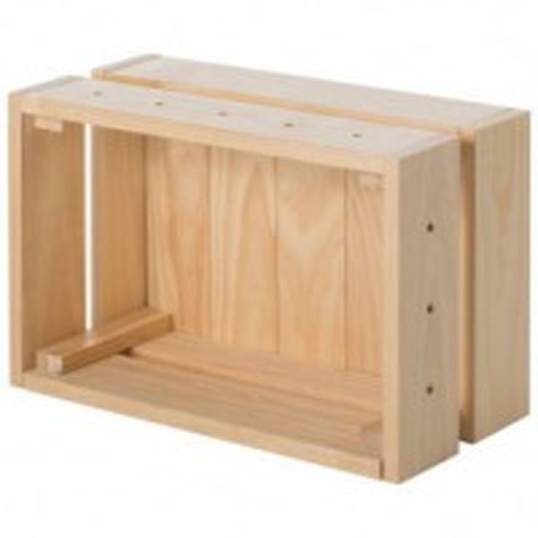 Acheter Caisse en bois haute ou caisse en bois huile renault deco 1