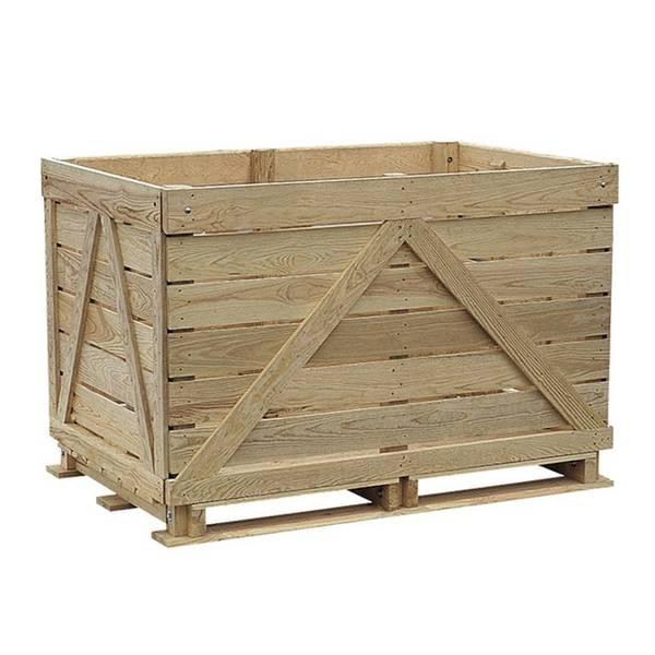 vieille caisse en bois ikea