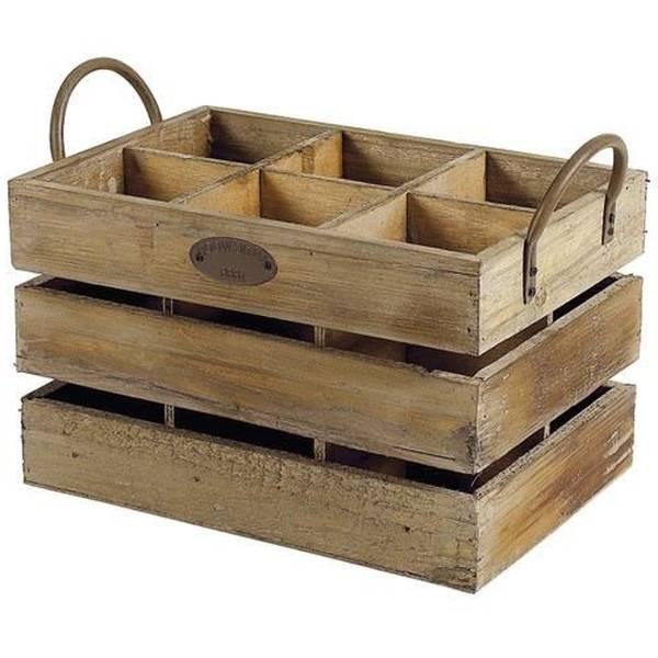 Acheter Caisse bois kallax et caisse en bois bricoman promotion 1