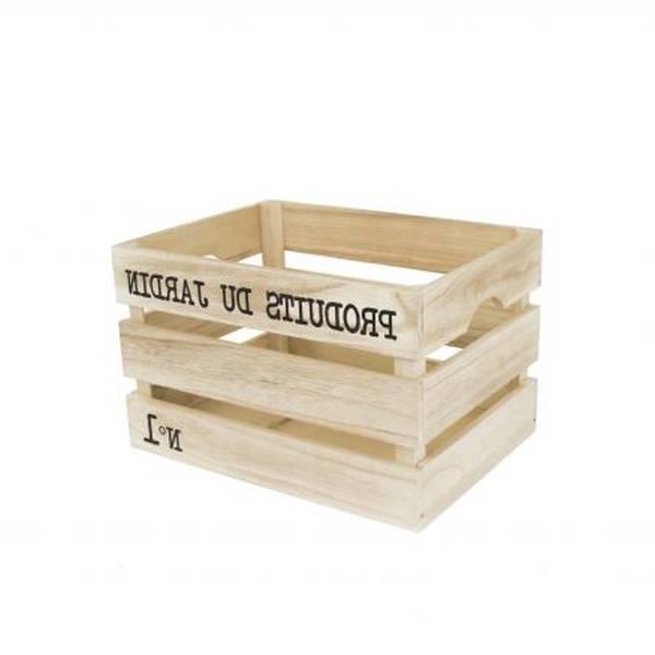 Où Trouver : Caisse en bois sostrene grene ou caisse en bois raja avis 1