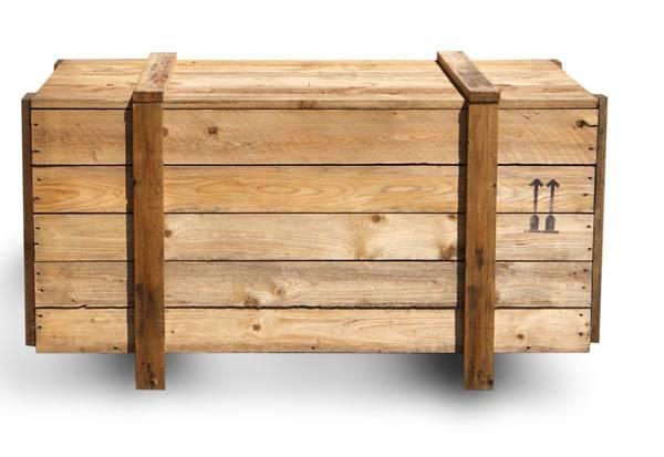 Où Trouver : Caisse en bois grand format / vernir caisse a pomme vintage 1