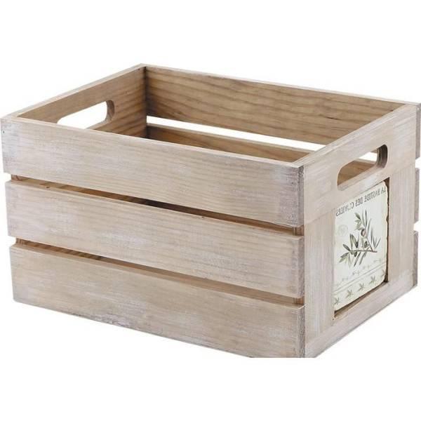 Acheter Caisse a pomme table de chevet : caisse stockage pomme de terre vintage 1