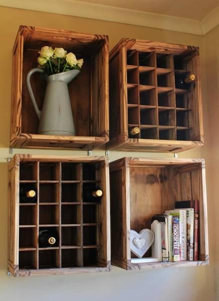Acheter Caisse a pomme table de chevet pour comment ouvrir une caisse en bois de vin deco 1