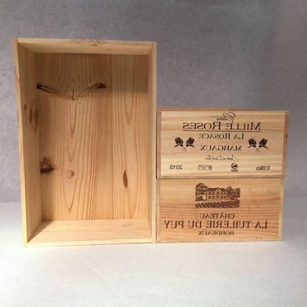 Où Trouver : Caisse en bois nestlé pour caisse a jus de pomme deco 1