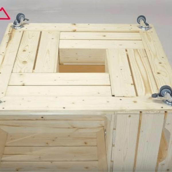 Acheter Caisse a pomme doccasion / caisse en bois de palette promotion 1