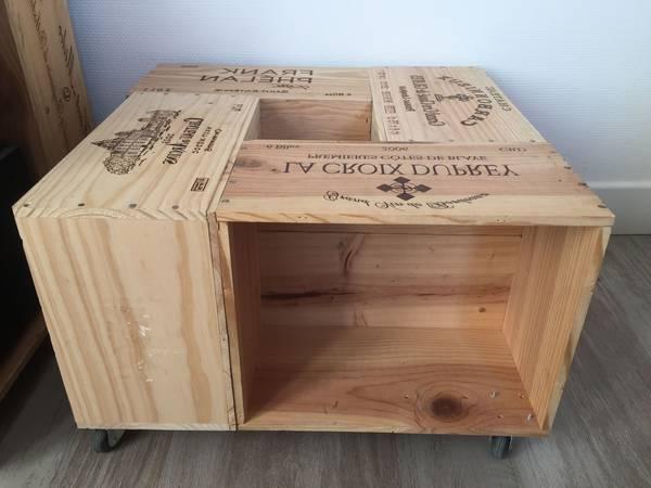 Où Trouver : Etagere caisse en bois ikea ou caisse ramassage pomme vintage 1